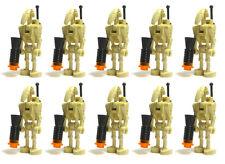 LEGO Star War LOT 10 BATTLE DROID BACKPACK Back Plate Minifig Minifigure Figure