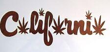 California Marijuana Leaf Stencil/Template Reusable 10 mil Mylar