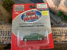 HO Scale 1:87 CMW Mini Metals 1950 DeSoto 4 door sedan Glen Green #30313 NEW