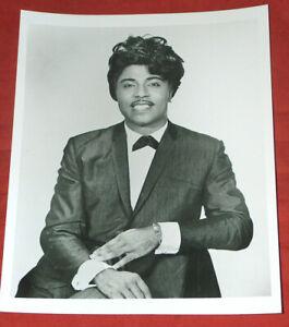 "8X10"" B&W Photo Music Legend Little Richard Dressed Up in Suit & Bow-tie Reprint"