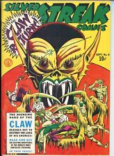 SILVER STREAK COMICS #6 REPRINT #1970'S-dYNA pUBS-JACK COLE COVER-THE CLAW-vf