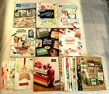 Lot of 7 Stampin' Up! Catalogs +16 Holiday +Occasions +Sale-A-Bration 2012-2020