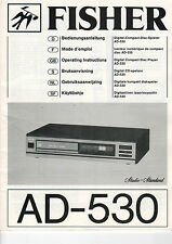 FISHER Service Manual Anleitung  AD-530   B1499