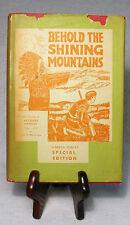 First White Man to Explore the Alberta Rockies—Nice 1954 Author-Signed Hardback