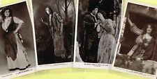 ☆ EDWARDIAN THEATRE / MUSIC HALL ACTRESS / DANCER ☆ 1900s Postcards LIST 12