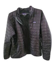 mens patagonia nano puff jacket large