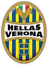 "Hellas Verona FC Italy Football Soccer Car Bumper Window Sticker Decal 4""X5"""