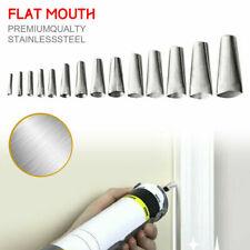 Caulking Finisher Silicone Nozzle Glue Scraper Kit Applicator Tool Kitchen