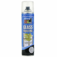 x1 200ml Window Glass Frosting Spray Paint Aerosol Privacy Decorative Frosted