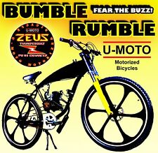 """Complete Diy 2-Stroke 66Cc/80Cc Motorized Bicycle Kit With 26"""" Gas Tank Bike"""