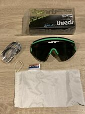 Old School Bmx MTB MX JT Racing Threds Sunglasses NOS OG Green