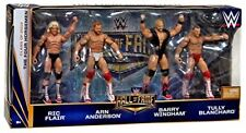I QUATTRO CAVALIERI HALL OF FAME WWE 4 Pack Figure RIC FLAIR, ARN ANDERSON-NUOVO
