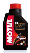 MOTUL 7100 4T 10W 30 OLIO MOTORE  MOTO 4 TEMPI HONDA 710 2T 10W-30 SG SH SJ SL