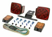 12V LED Trailer Rear Tail Lights Kit Stop Tail Indicator Waterproof Submersible