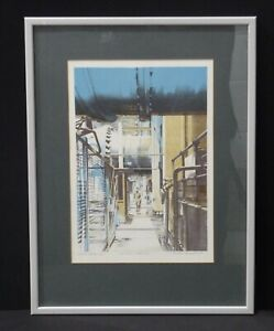 """Martin Broadbent Very Rare Signed Artist Proof 13/15 """"The Main Inlets 1 + 2"""""""