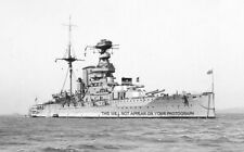 ROYAL NAVY QUEEN ELIZABETH CLASS BATTLESHIP HMS WARSPITE