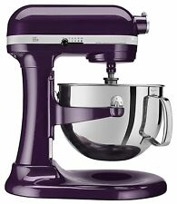 NEW Kitchenaid Pro 600 Big 6 Quart Stand Mixer Plum Berry Purple KP26M1XPB
