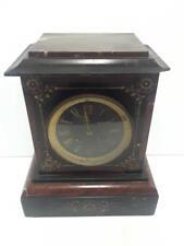 Antique Ackeman Bros. Marble Clock Medaille DeBronze French Movement San Fran.