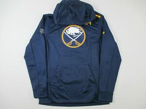 Buffalo Sabres Fanatics Sweatshirt Men's Navy Poly Used Multiple Sizes