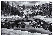"Cortesi Home ""Dream Lake Morning"" by Darren White Wall Art 26"" x 40"""