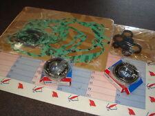 juntas+sellos de aceite motor + 2 rodamientos TN9 Rotax 122 Aprilia 125 RS RX SX