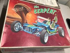 Vintage 1966 PYRO The Serpent Plastic Kit Model - C-83-400 - SCARCE SCARCE