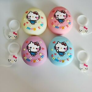 Tamagotchi MiX M!X P'S Ps Silicone Case Cover & Charm Cat Loop Kitty (US Seller)
