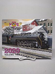 MTH 2020 VOLUME II TRAIN CATALOG o gauge lionel standard dealer book VOL2 NEW