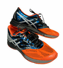 Asics Gel Noosa Tri 10 Men's Size 10.5 Orange Blue Running Shoes T530N Triathlon