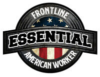 Essential Worker Laminated Vinyl Bumper Sticker Decal