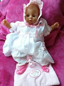 Crying BABY annanelle  girl  DOLL . Preowned