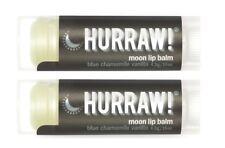 2x Hurraw Lip Balm Moon Premium Vegan Natural Organic Lipcare Skincare