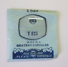 NOS Wrist Watch Crystal For CHATEAU CADILLAC Part 24.2 x 21.4 mm