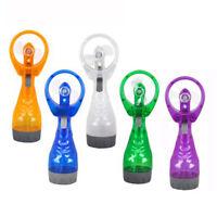 HN- BU_ Portable Water Spray Cooler Handheld Outdoor Travel Battery Power Fans M