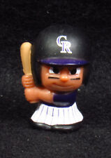"""MLB TEENYMATES ~ 1"""" Batter Figure ~ Series 1 ~ Colorado Rockies ~ Minifigure"""