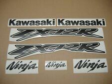 ZX-12R Ninja matte black decals stickers graphics set kit 1999 2000 2001 2002 03