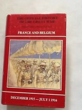 History Of The Great War - Military Operations - France/Belgium