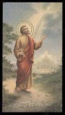 """santino-holy card""""""""ediz. NB*  n.6053 S.PIETRO AP."""