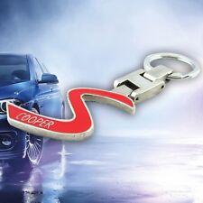New Mini Cooper Car Auto Logo Badge Metal Keyfob Keyring Keychain Key Holder