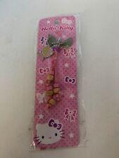 New Hello Kitty Cell Phone Charm Hawaiian Wooden Beads Sanrio