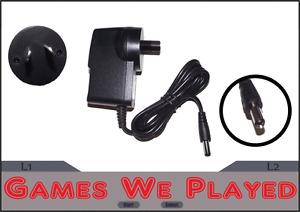 SNES Super Nintendo Aftermarket Power Supply Replacement New 9V. AU Plug