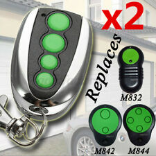 2pcs 4-Channel Garage Door Compatible Remote Key Control For Merlin M230T M430R