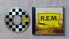 "CD AUDIO MUSIQUE INT / R.E.M. ""OUT OF TIME"" 11 TRACKS CD ALBUM  1991"