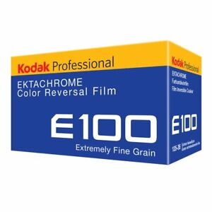 35mm Slide Film - New KODAK EKTACHROME E100 (1 ROLL)