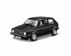 VW Golf GTi MkI (1979) in Black (1:24 scale by Bburago 18-21089)