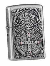 Antique Silver Doppel-Emblem MEDAL OF ZIPPO im Rahmen LIMITED xxx/1000 neu+ovp