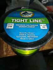 Offshore Angler Tight line 40lb Yellow Premium Saltwater Monofilament 748 yds