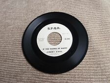JIMMY SOUL  IF YOU WANNA BE HAPPY/DON'T RELEASE ME  S.P.Q.R.  3305