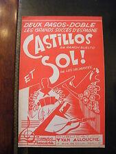 Partition Castillos Suelto et Sol! Luis Valmontes