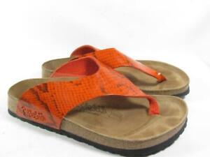 Birki's Birkenstock T Strap Slide Sandal Women size 38 US 7